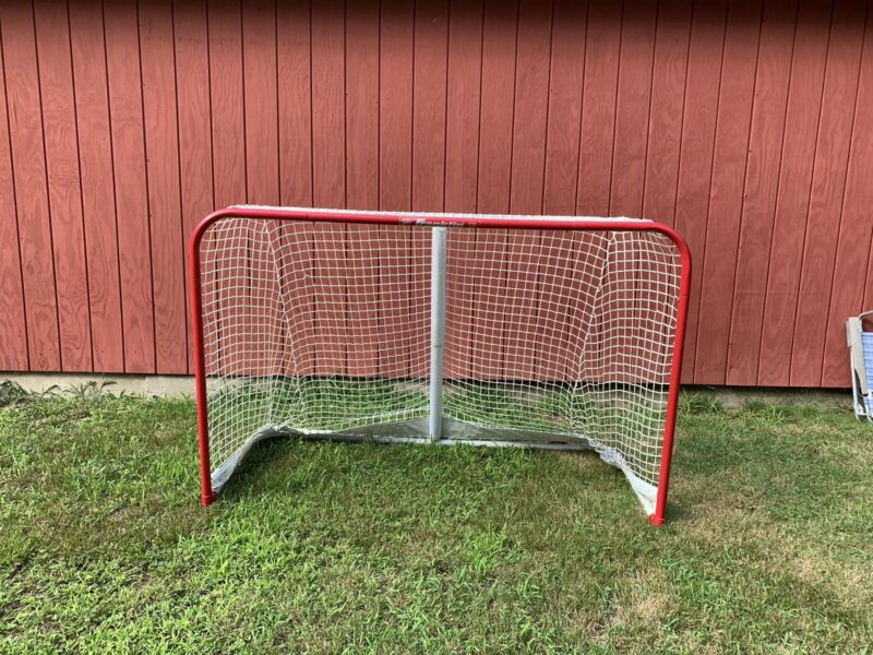 Franklin Roll-A-Goal NHL Hockey net reinforced with nylon rope all around