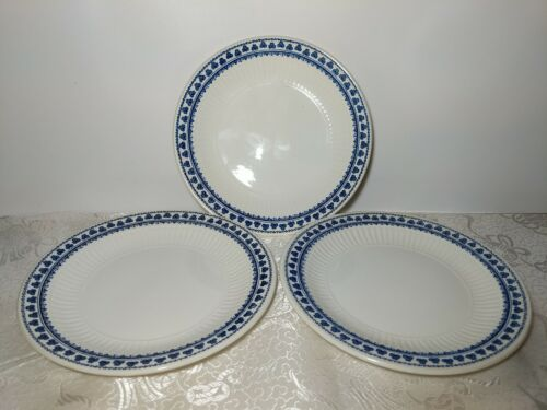 3 Adams BRENTWOOD Real English Ironstone 6 Plates Salad Dessert Excellent Cond - $18.00