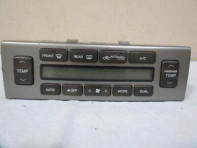 ✅ 98 99 00 01 02 03 04 05 Lexus gs300 gs400 gs430 AC Heater Climate Control OEM