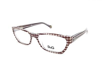 $400 DOLCE & GABBANA WOMENS BROWN EYEGLASSES FRAMES GLASSES OPTICAL EYE DG 1216