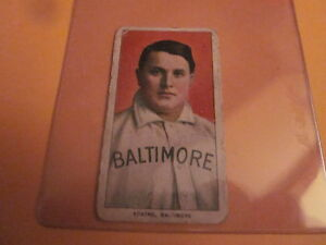 Doc Adkins - Baltimore - 1909-11 T206 card - Piedmont back