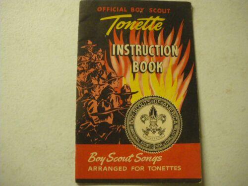 Official Boy Scout Vintage TONETTE Instruction Book