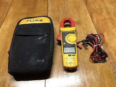 Fluke 902 Hvac Amp Clamp Meter Digital Multimeter With Leads