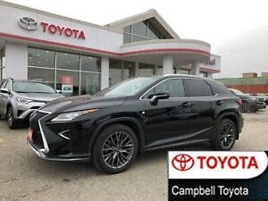 2016 Lexus RX 350 F SPORT-LOADED--NAV--HEATED-COOL LEATHER--ROOF