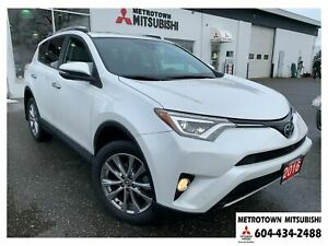 2016 Toyota RAV4 Limited 4WD; Local BC vehicle!