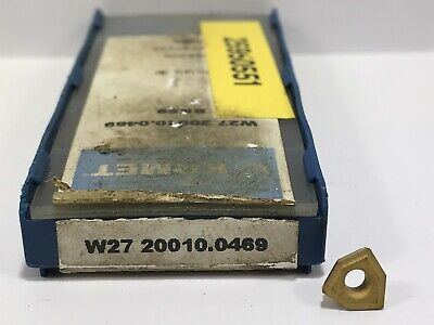 Komet W27 20010.0469 New Carbide Inserts Grade Bk69 5pcs