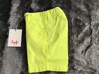 Il gufo boys shorts (Bermuda) bright lime green