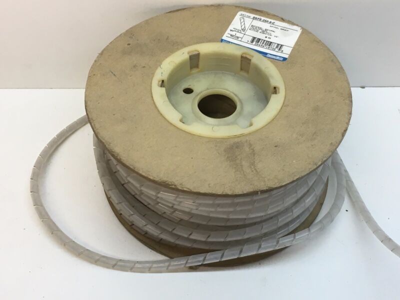 "100ft Thomas & Betts SRPE-250-9-C Catamount Polyethylene Spiral Wrap 1/4"" OD"
