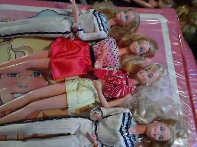 4 Vintage Barbie Dolls