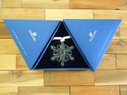 SWAROVSKI 2012 LARGE CHRISTMAS HOLIDAY ORNAMENT