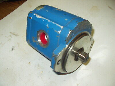 Hi-lo Skid Steer Hydraulic Gear Pump No. 998597 2201 13 Spline Two Bolt