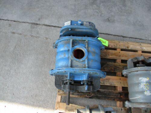 ROOTS -ROTARY LOBE GAS PUMP TURNS GOOD PORT 3 1/4 SHAFT3 1/2X1 # 94912R REBUIL