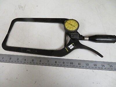 Mahr Federal 49p-200 Steel Outside Dial Caliper Gage .01 Grads Mu54