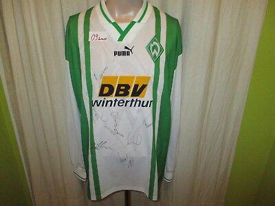 Werder Bremen Puma Langarm Heim Trikot 1996/97