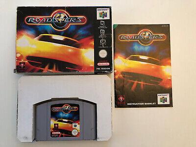 Nintendo 64 Roadsters - N64 - PAL UKV - Great Racing Game! Rare!