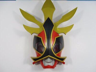 Samurai Ranger Costume (Power Rangers Samurai Shogun Helmet Mask Red Ranger Deluxe Talking Mask)