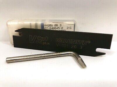 Valenite Vh101 26 3 Insert Holder 1pc New