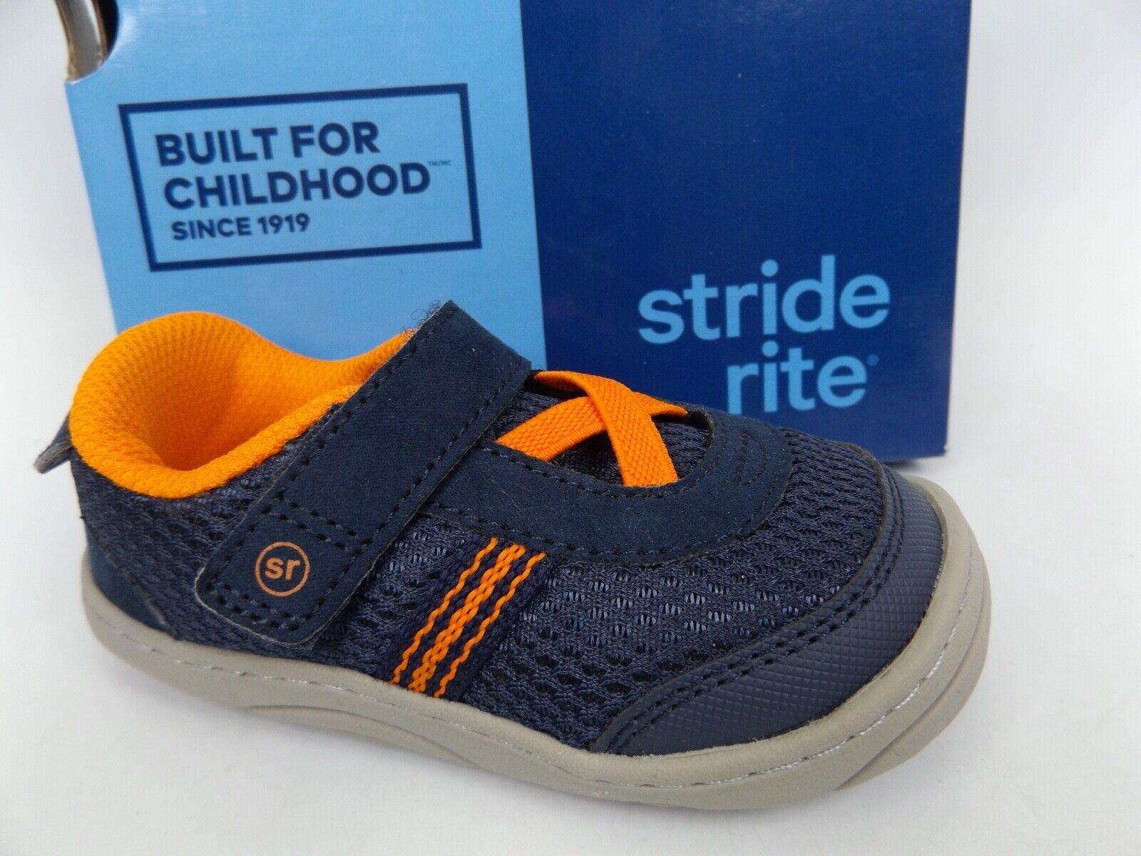 Stride Rite Jackson Sneakers, Toddler Boy's Shoes SZ 6 M, Na