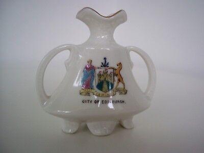 Gemma China Crested Ware Vase (City of Edinburgh Coat of Arms)