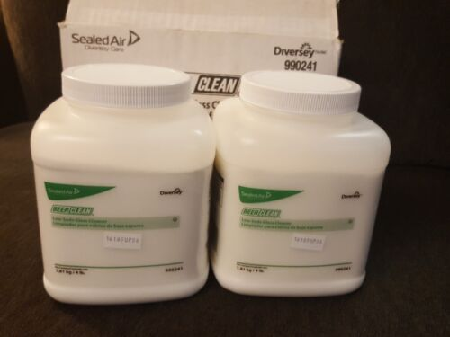 Diversey Sealed Air Beer Clean low suds glass cleaner 2 - 4lb containers 990241