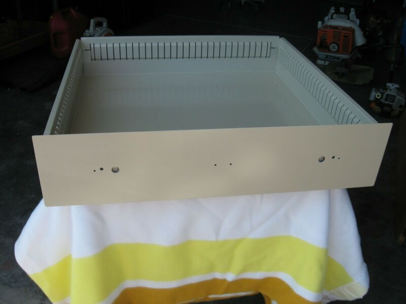 Stanley Vidmar Tan Drawer And Roller Assembly (Slide)  Only