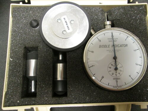 Revolution Counter Tachometer Swiss made Jaquet 253 up to 4000 RPM Self Powered!