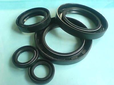 Simmer Ring (1 Stk. Wellendichtring / Simmerring NBR 8x14x4 - 8/14/4 mm  A = WA = SC = BA =DA)