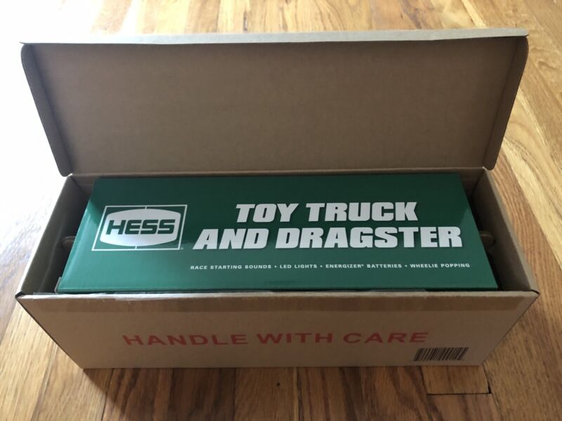2016 HESS TOY TRUCK AND DRAGSTER - BRAND NEW! FACTORY SEALED