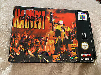 Body Harvest (Boxed Game With Manual) - Nintendo 64 / N64 Console PAL