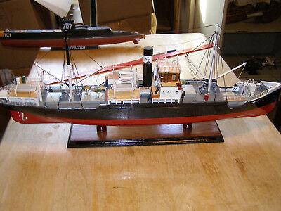 Museum Quality Model of Danish Ship