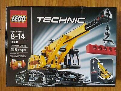 LEGO TECHNIC Crawler Crane (9391) - NEW & Factory Sealed, RETIRED, Damaged Box