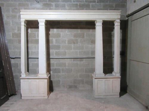 ~ ANTIQUE VICTORIAN COLLONADE ROOM DIVIDER ~ 116 X 102  ~ ARCHITECTURAL SALVAGE
