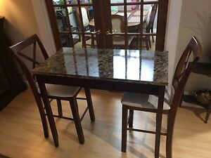 Pub table and chairs $50/ON HOLD