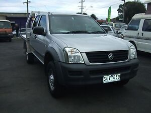 2004 Holden Rodeo Dual Cab Cab Chasis auto Frankston Frankston Area Preview