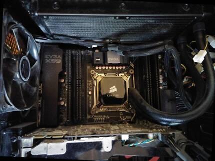 Intel i7 5820K, EVGA x99 Classified, 16gb DDR4 2666mhz Gaming PC
