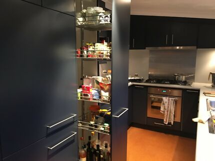 Kitchen with extra gadgets and most appliance