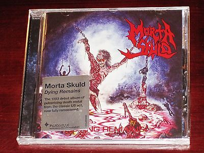 Morta Skuld  Dying Remains Cd 2013 Remaster Peaceville Records Cdviled489 New