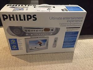 Philips DVD kitchen radio with LCD-tv
