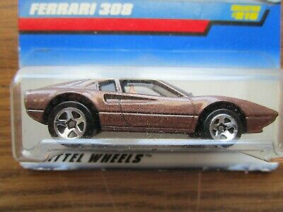 1997 HOT WHEELS   FERRARI  308    BROWN