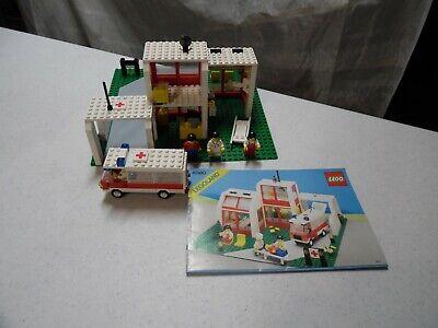 Lego 6380 System Emergency Treatment Center (St. Mary's Hospital) Set Manual