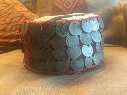 Antique Palestinian coin hat