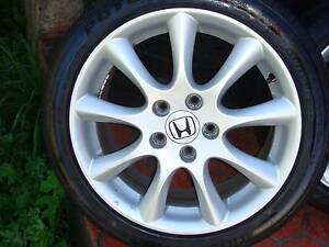 "Set Of 17"" Genuine Honda Euro Accord Rims 5 Stud x 114.3 Pattern Green Valley Liverpool Area Preview"