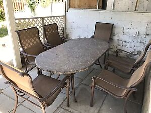 6Pc Patio Dining Set *can deliver*