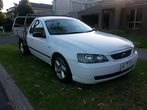 '03' FORD FALCON BA * 1 tonne UTILITY with DECATED FACTORY GAS Keysborough Greater Dandenong Preview