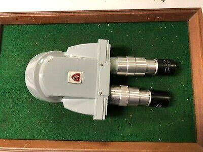 Spencer Zeiss Double Microscope Head Lens