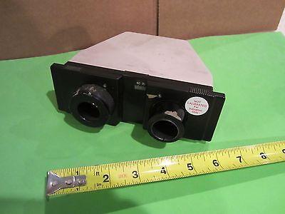 Olympus Japan Head Microscope Part Optics As Is Bink5-99