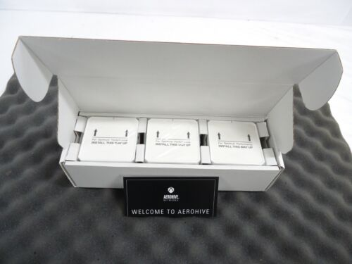 LOT OF 3  NEW Aerohive Atom AP30 Wireless Access Points NEW OPEN BOX