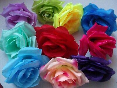 ROSENBLÜTEN,17 Farben rot ,lila etc HOCHZEIT DEKO TISCHDEKO  (Lila Rosenblüten)