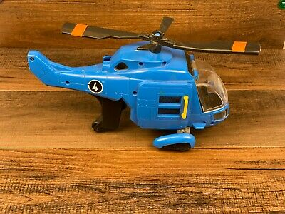 Fisher Price Imaginext Blue Rescue 4 Helicopter