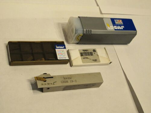 ISCAR TOOLHOLDER GHDR 19-2 For Turning, Grooving & Parting with carbide inserts